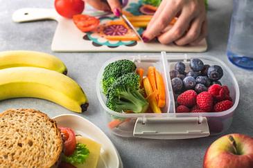 fruit and veg lunchbox